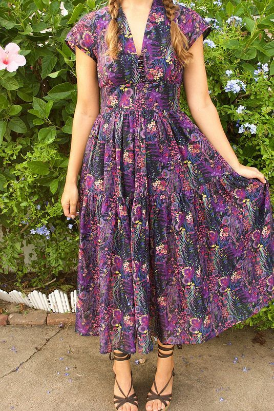 Boho Inspired Liberty of London Dress | Mood Sewing Network | Bloglovin'