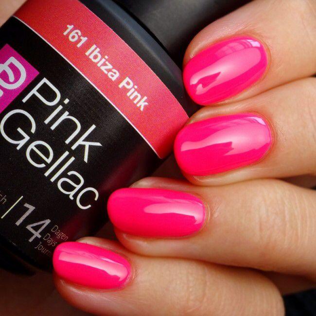 161 Ibiza Pink di Pink Gellac. Colore shock e unghie al top!  In vendita su www.kosmetix.it