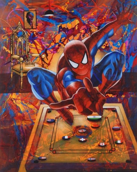 """48"""" x 60"""" - Acrylic On Canvas"""