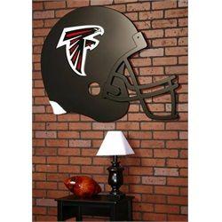 Atlanta Falcons Football Helmet Wall Art Decor