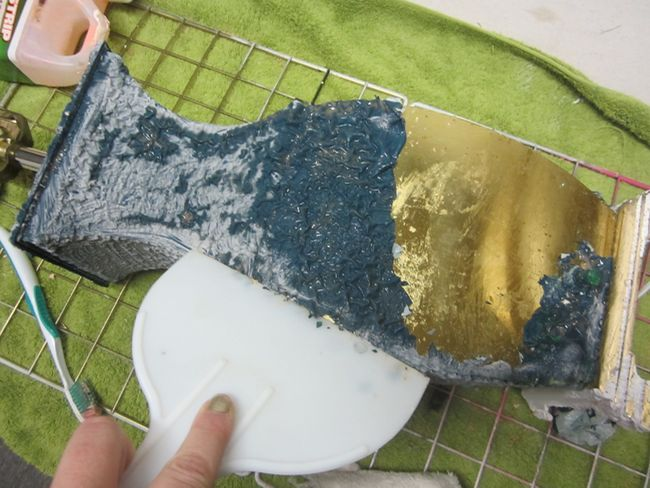 die besten 25 spray painting metal ideen auf pinterest spr hfarbe f r metall rustoleum. Black Bedroom Furniture Sets. Home Design Ideas