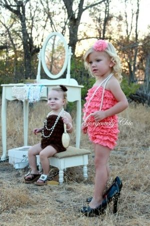 cute ruffle baby romper kids: Little Girls, Photo Ideas, Plays Dresses Up, Rompers, Dressup, Pictures, Baby Girls, Kids, Photo Shooting