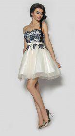 Elegancka sukienka z koronką Model:PW-2121