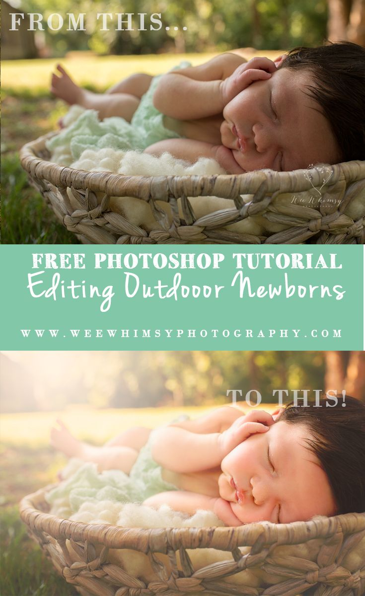 Watch me edit this image by hand in photoshop steps can be applied with any version of photoshop a newborn photoshop baby pregnancy photography