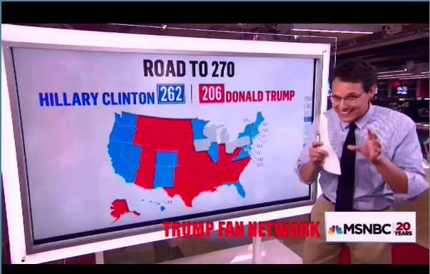 The Worst 2016 Presidential Election Predictions: The Clown on MSNBC's Rachel Maddow Show is the Biggest Loser
