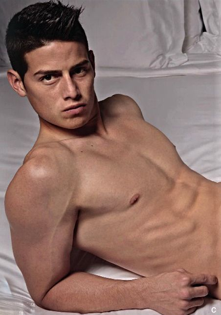 James Rodriguez, the model.