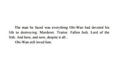 "Why not just rip out my heart. It would be less painful. :)))) Quote from the ""Revenge of the Sith"" novel - Anakin Skywalker & Obi-Wan Kenobi"
