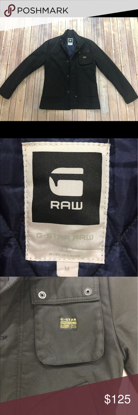 G-Star Raw Men's Jacket Basically new G-Star Jacket! In great condition only worn once... size medium. G-Star Jackets & Coats