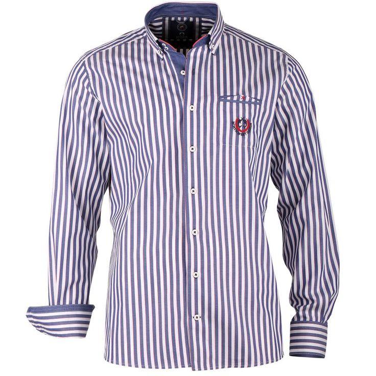 Streifenhemd Button-Down