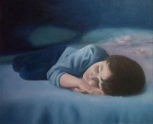 Oil painting - Dreams can take you anywhere