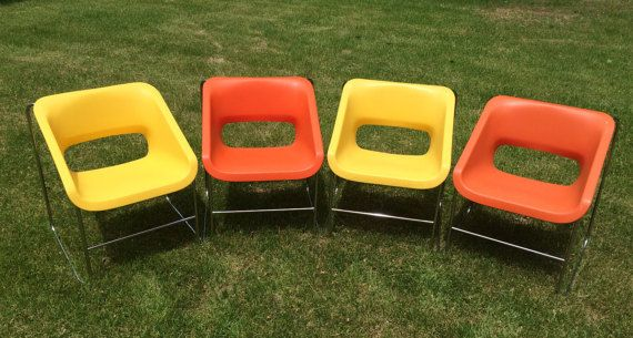 Artopex Lotus Chairs by Paul Boulva Set of 4 by FunkyLampLand