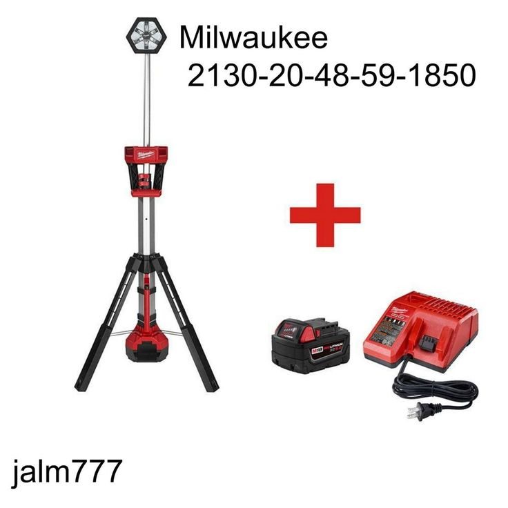 Milwaukee M18 Lithium Ion Cordless Trueview Led Stand