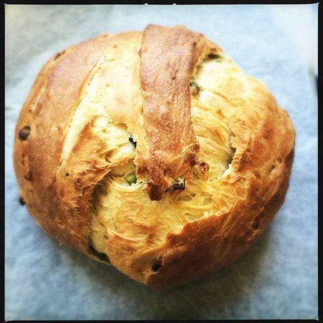 Jammer genoeg heb ik van afgelopen keer niet heel veel foto's kunnen maken van de week met wereldgerechten. Maar dit brood heb ik afgelopen weken al een paar keer gebakken. Het brood is superzacht ...