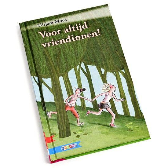 Voor altijd vriendinnen - Dit leesboek gaat over twee meiden die vriendschap sluiten op vakantie. Het is speciaal geschreven voor kinderen die wat meer moeite hebben met lezen.