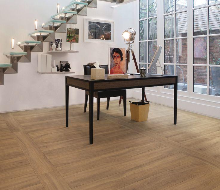Fusion Flooring 1063 Almond Oak - creative office space
