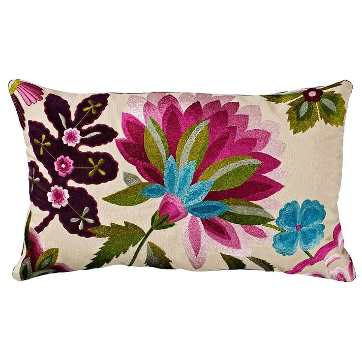 John Lewis Tropical Fleur Cushion £39 Más