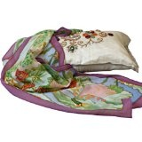 Fashion Silk Scarf Shawl for Women - Birds in Paradise - Oblong Silk Scarves Rectangle Long Neck Scarf Mothers day gifts presents gift ideas her women wife mom mother daughter son birthday gifts her wife presents gift ideas women girlfriend something special me mom thin lightweight chiffon Scarf (Apparel)By TexereSilk