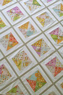 Urban Lattice quilt top | by freshlypieced