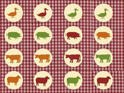 Free Farm party printables