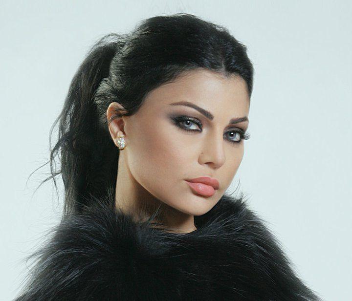 Lebanese singer Haifa Wehbe