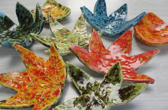 My favorite ceramic lesson of all time. Never fails! A perfect Fall project.