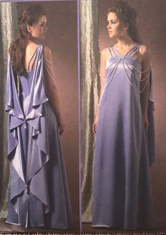 SEWING PATTERN McCalls 4995 STAR WARS PADME AMIDALA DRESS  sz 14-20 Costume