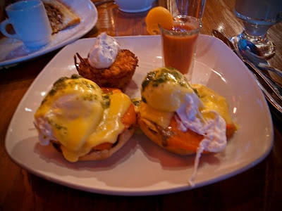BC Loxs Benedict at Elements Tapa Restaurant, A local favorite and a MUST DO in Whistler!