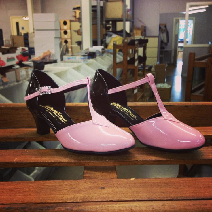 Here's a 'Karen' style we've made up in the custom combination of Black Patent and Pink Patent that a customer has kindly asked for, looking good!