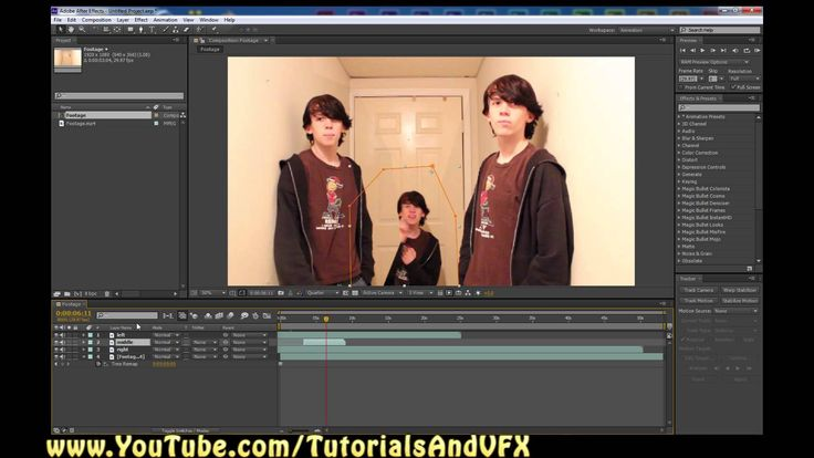 adobe after effects how to add green screen