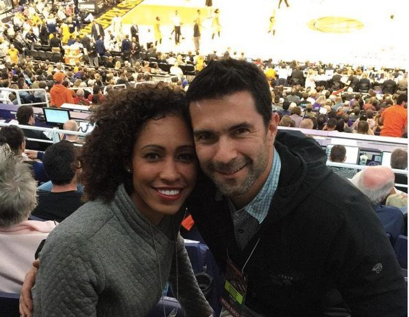 Jonathan Bailey, husband of ABC and ESPN's sports anchor Sage Steele, who was SportsCenter's co-host and a contributor to ESPN's First Take, SportsNation