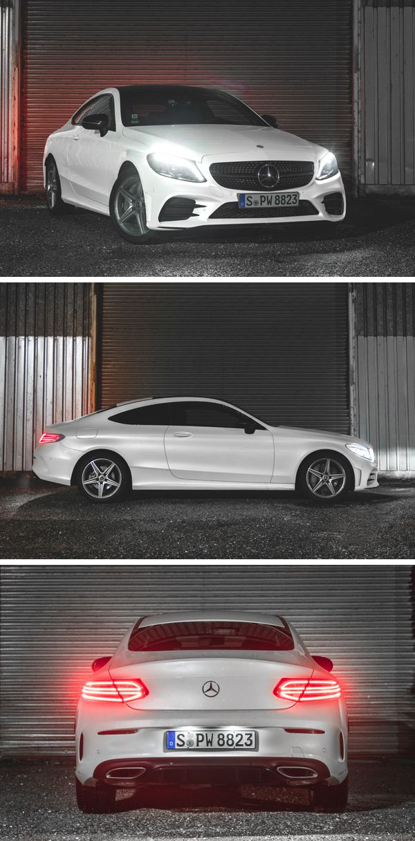 Ready To Rock The Night The Mercedes Benz C Class Coupe Tom
