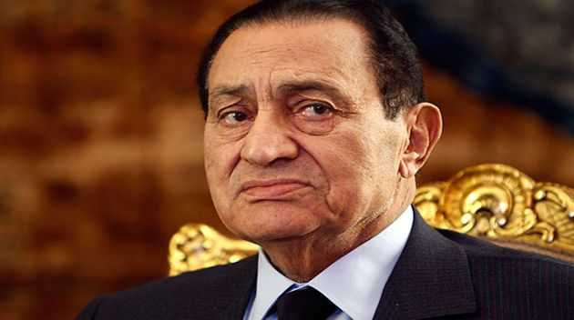 Egypt's ousted president Hosni Mubarak