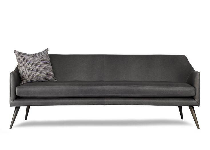 Chaise Sofa Arthur G Stanley Sofa Cool Grey Leather Seater Australian Made Melbourne