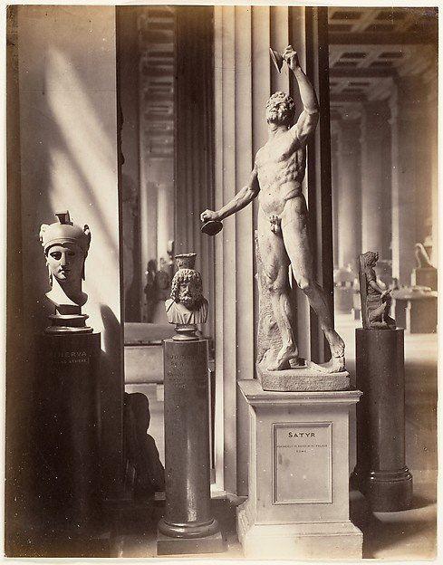 Satyr, British Museum by Stephen Thompson, 1869