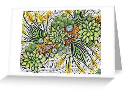 Greeting Cards, Nature, Animals, Strong colours, Flowers. Rain Forrest   Go Follow This Site. http://www.redbubble.com/people/rednib