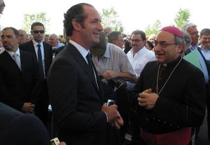 Luca Zaia i vescovi, i profughi e tanto spazio da gestire.Perché la Chiesa non apre le porte? | Blog from Veneto Italy to the World