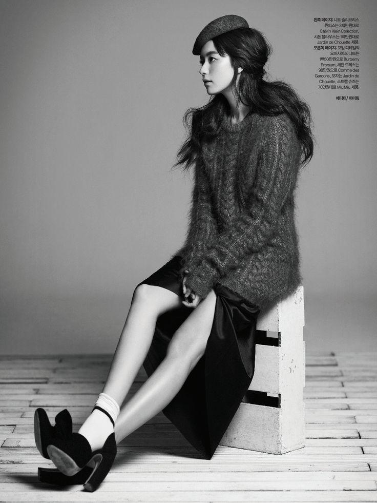 Han Hyo-joo by Kim Youngjun (Lady Soul - Harper_'s Bazaar Korea November 2011) 2