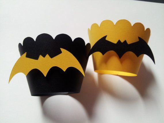 Batman Cupcake Wrappers