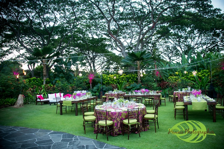 8 Best Garden Lawn Images On Pinterest Wedding Reception Venues Beach Weddings And Hawaii Wedding