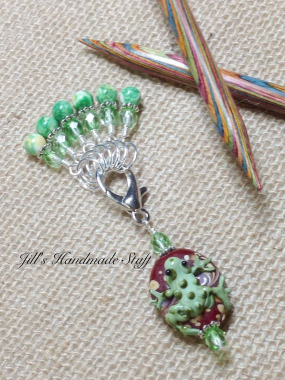 Best Knitting Stitch Markers : 17 Best images about Stitch markers on Pinterest Knitting stitches, The fro...