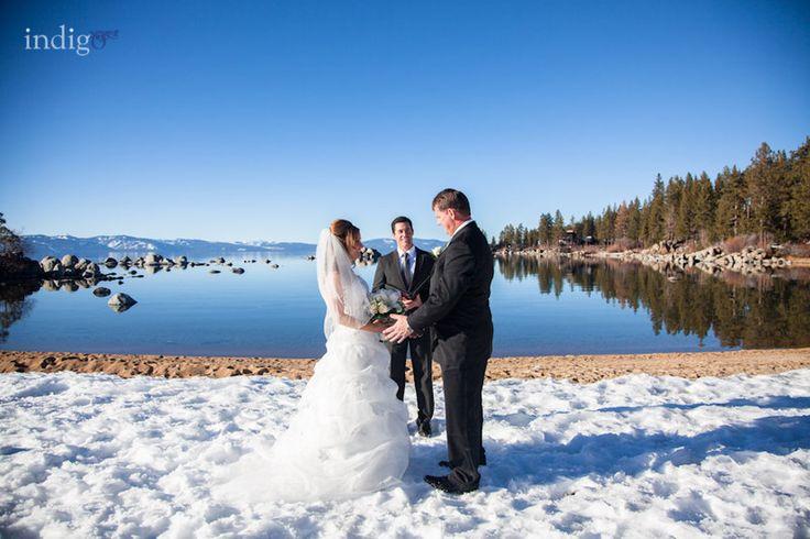 Thunderbird Lodge winter wedding.