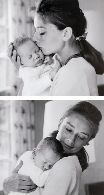 Baby Sons, Mothers, Audrey Hepburn And Sons, Beautiful, Sons Sean, Audreyhepburn, Icons, People, Baby Boy
