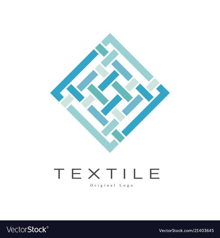 Pin by VectorStock on company logo templates | Textile ...
