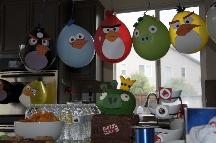3 Little Things...: Angry Birds Party
