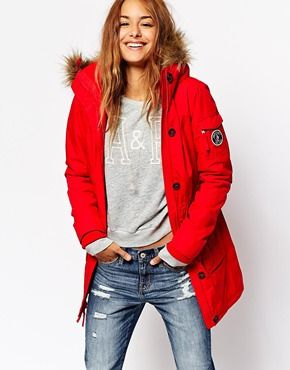 Abercrombie & Fitch Expedition Parka