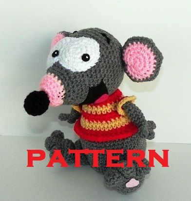 Toopy PATTERN PDF Crocheted Doll  Toopy & Binoo Show by hookmiup, $6.00