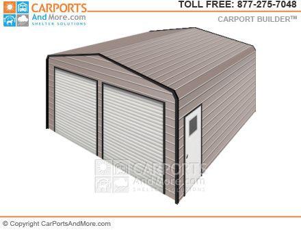 Metal Carport and Garage Kit Builder