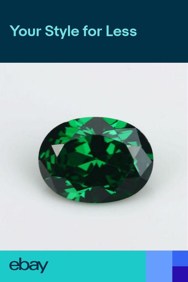 AAAAA 10x12mm 7.56ct Green Emerald Sapphire Oval Faceted Cut VVS Loose Gemstone