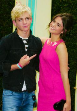Ross lynch and Maia mitchell <3