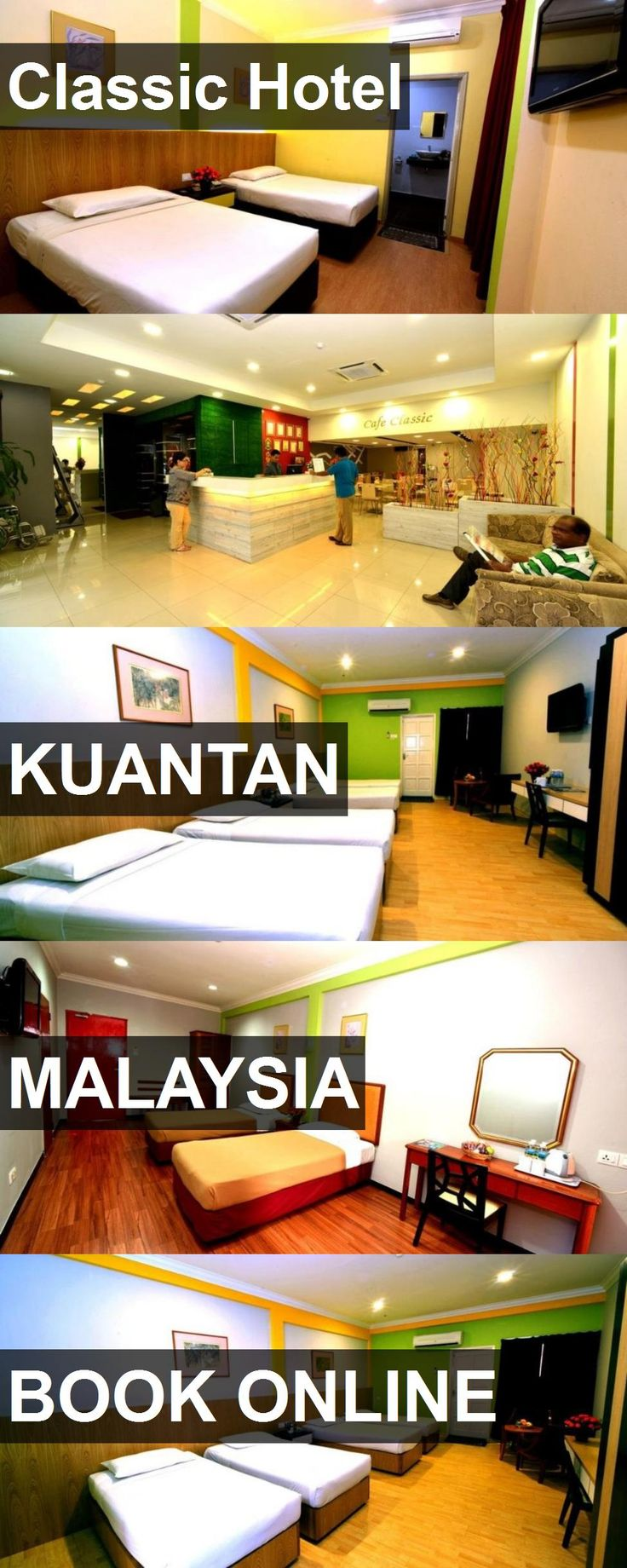 Classic Hotel in Kuantan, Malaysia. For more information, photos, reviews and best prices please follow the link. #Malaysia #Kuantan #travel #vacation #hotel